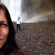In Iceland, my friends are natural wonders.